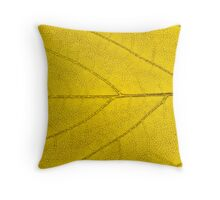 Leaf abstract texture  Throw Pillow