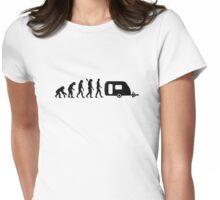 Evolution caravan Womens Fitted T-Shirt