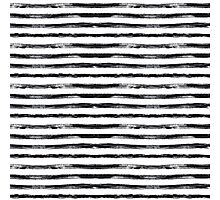 Grungy stripes Photographic Print
