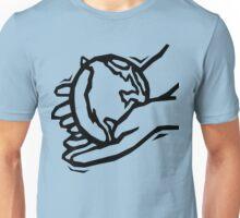 Earth In Gentle Hands Unisex T-Shirt