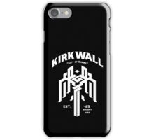 Dragon Age Kirkwall logo iPhone Case/Skin