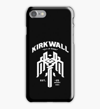 Dragon Age Kirkwall logo iPhone Case/Skin