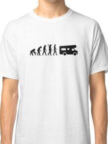 Evolution camping caravan Classic T-Shirt