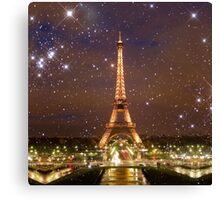Paris (Tower) (Square) Canvas Print