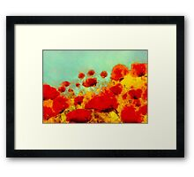 Poppy time'... Framed Print