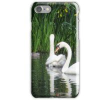 Swanning around iPhone Case/Skin