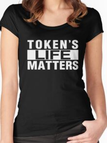 Token's Live Matters Women's Fitted Scoop T-Shirt