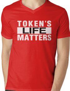 Token's Live Matters Mens V-Neck T-Shirt