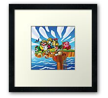 Wario - Super Mario Land 3 Framed Print