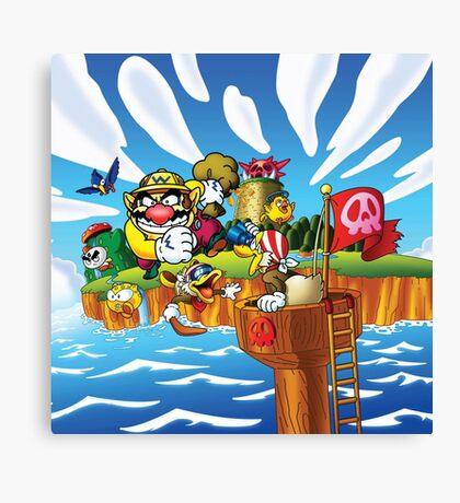 Wario - Super Mario Land 3 Canvas Print