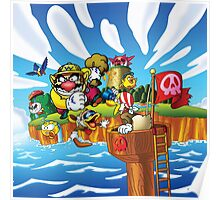 Wario - Super Mario Land 3 Poster