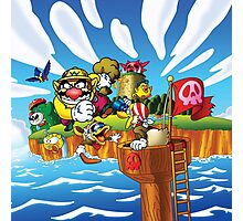 Wario - Super Mario Land 3 Photographic Print