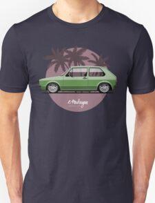 VW Golf mk1 (green) Unisex T-Shirt