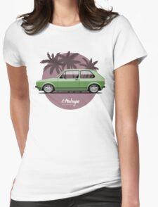 VW Golf mk1 (green) Womens Fitted T-Shirt