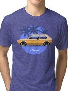 VW Golf mk1 (yellow) Tri-blend T-Shirt