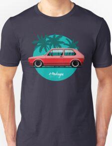VW Golf mk1 (red) Unisex T-Shirt