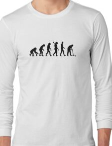 Evolution croquet Long Sleeve T-Shirt
