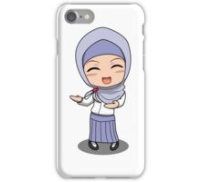 Hijab Girl Anime Chibi iPhone Case/Skin