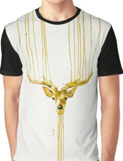 DEAR DEER handmade painting Graphic T-Shirt