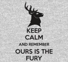 Keep Calm And Remember Ours Is The Fury by nardesign