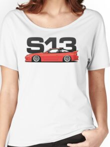 180sx Tuner - Flame Red Edition Women's Relaxed Fit T-Shirt
