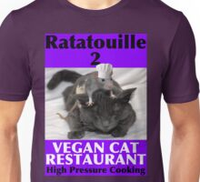 Ratatouille 2 Cat Restaurant Unisex T-Shirt