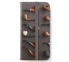 Collection of pipes iPhone Wallet/Case/Skin