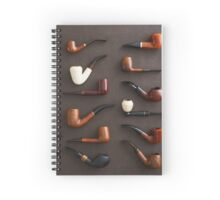 Collection of pipes Spiral Notebook