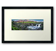 Turpins Falls Framed Print