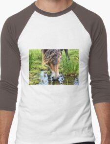 Exmoor Pony Men's Baseball ¾ T-Shirt