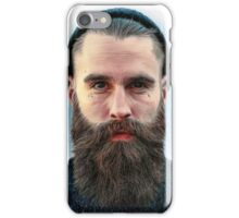 Ricki Hall Portrait iPhone Case/Skin