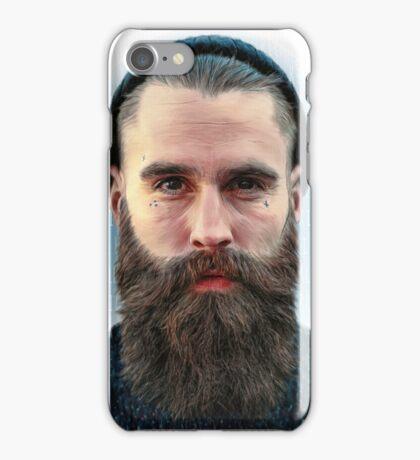 Ricki Hall Portrait iPhone Case/Skin