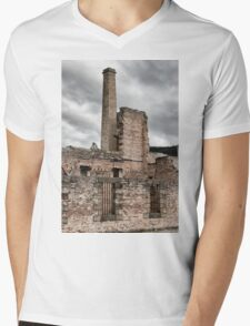 Port Arthur building in Tasmania, Australia. Mens V-Neck T-Shirt