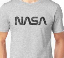 NASA Vintage Emblem 1975-1992 - Black Edition Unisex T-Shirt