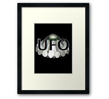 UFO   1970s TV series with the best flying saucer ever Framed Print