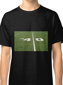 Football Field Forty Classic T-Shirt