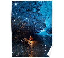 Blue Lagoon (Ice Land) Poster