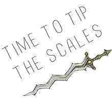 Time to tip the scales! (gentle) by hyrulemarket
