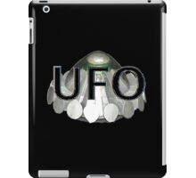UFO   1970s TV series with the best flying saucer ever iPad Case/Skin