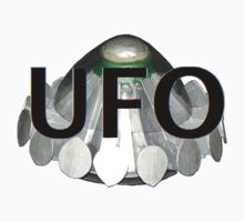 UFO   1970s TV series with the best flying saucer ever Kids Tee
