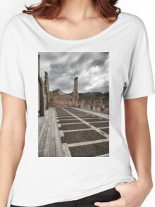 Port Arthur building in Tasmania, Australia. Women's Relaxed Fit T-Shirt