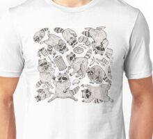 Naughty Raccoons Unisex T-Shirt