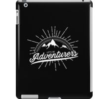 Let's Be Adventurers iPad Case/Skin