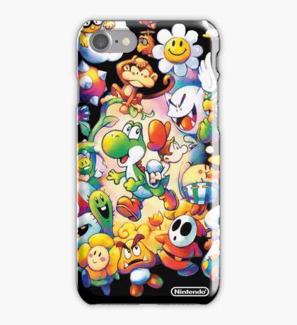 Yoshi's Island 2 - スーパーマリオ ヨッシーアイランド iPhone Case/Skin