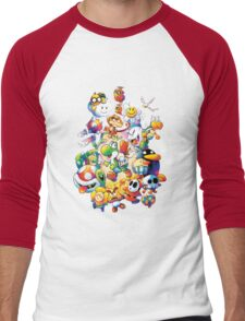 Yoshi's Island 2 - スーパーマリオ ヨッシーアイランド Men's Baseball ¾ T-Shirt