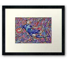 Giroud Force Framed Print