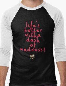 Mad Yogi # 2 Men's Baseball ¾ T-Shirt