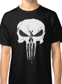 The Punisher Frank Castle Skull Classic T-Shirt