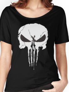 The Punisher Frank Castle Skull Women's Relaxed Fit T-Shirt