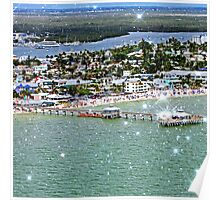 Fort Myers & Sanibel, Florida (Square) Poster